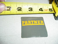 Partner Chainsaw Decal Sticker----- Box747