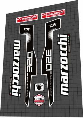 Decal Set MARZOCCHI CR 320 Fork Sticker