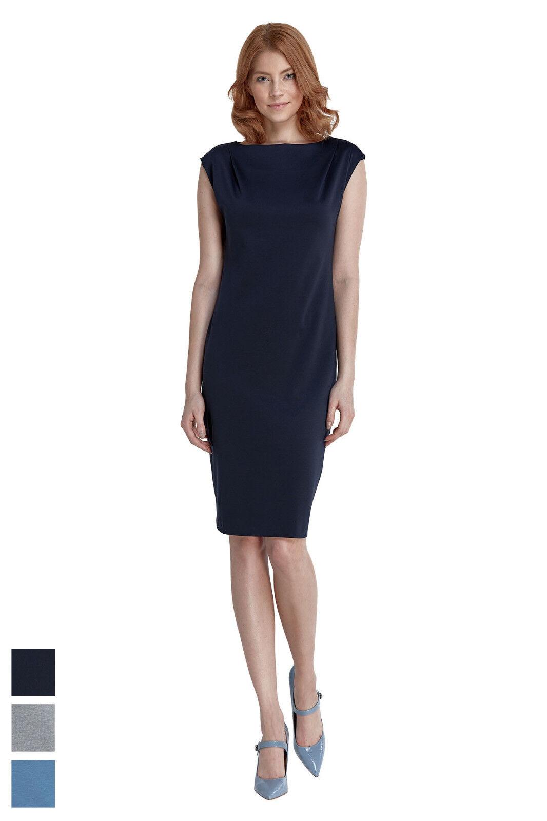 Etuikleid Ärmellos Damen Bleistiftkleid Knielang Retro Abendkleid Business Kleid