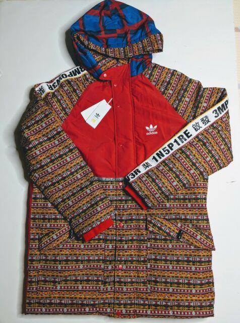 Adidas PW Pharrell Williams Hu Human Race Padded Jacket Multicolor EA2471