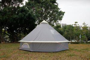 100/% Coton 7 M Bell Tente Avec Fermeture En sol Feuille par Bell Tente Boutique