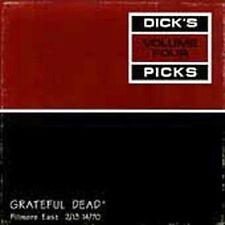 GRATEFUL DEAD DICK'S PICKS VOL 4 FILLMORE EAST 1970 VERY GOOD!!  LOOK OOP