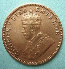 BRITISH INDIA - GEORGE V - ONE QUARTER ANNA - GOOD CONDITION