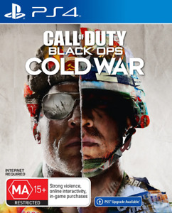COD Call of Duty Black Ops Cold War PS4 Game NEW