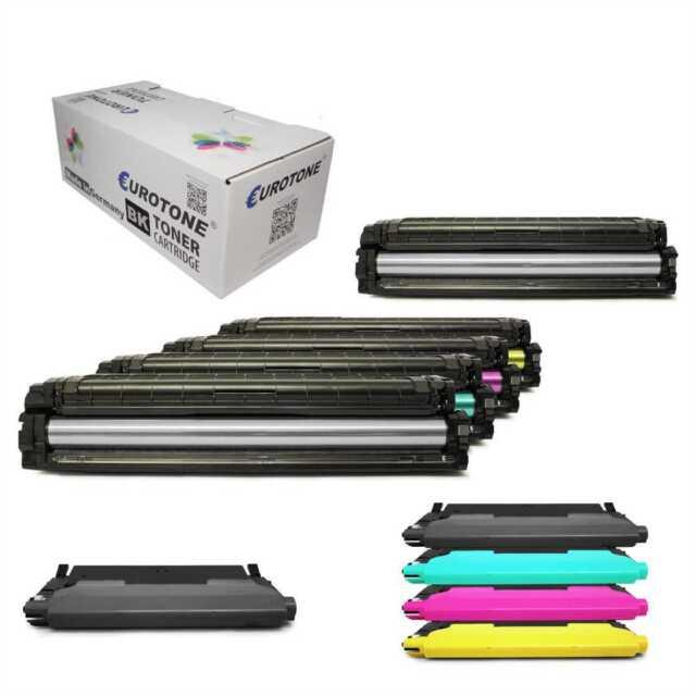 4/5x Tóner para Samsung C1810-9301 + CLP 300-775 + Clx 2160-9301 + Sl-C 400