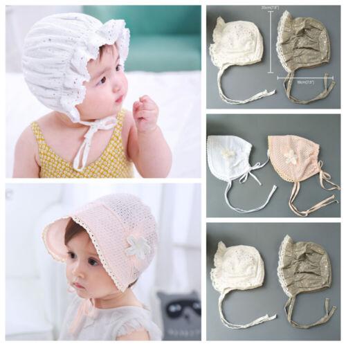 Newborn Baby Girls Boys Hats Bonnet Bucket Hat Visor Infant Beach Summer Cap Hot