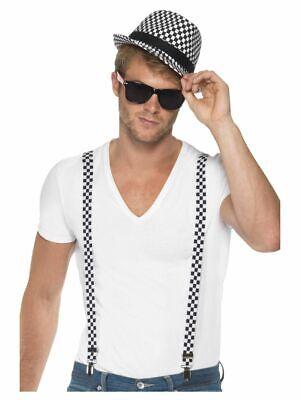 Men's Anni 1980 Anni'90 Pop Star Follia Olly Murs Ska Costume Kit Omaggio Stag Do-mostra Il Titolo Originale