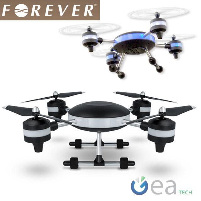 FOREVER Drone LUNE radioguidé Quadcopter Led Lumières Caméra vidéo HD 2,4GHZ