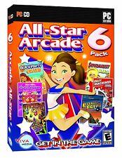 All-Star Arcade 6 Pack PC Games Windows 10 8 7 Vista XP Computer match three 3