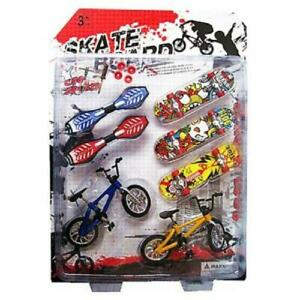 8X-Tech-Deck-Finger-Bike-Bicycle-And-Skateboard-Kids-Children-Wheel-Toys-Gifts
