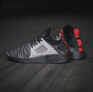 huge discount c457f 96800 Details about Adidas NMD XR1 Black Grey Size 12.5. S76851. jd sports. ultra  boost primeknit pk