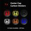 4x-HONDA-Carbon-Fiber-Wheel-Rims-Center-Cap-Decals-Stickers-Civic-Type-R-S2000 thumbnail 1