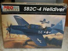 1/48 Revell Monogram Pro Modeler Curtiss Sb2c-4 Helldiver Fighter Model Kit