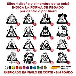 PEGATINA-BEBE-A-BORDO-PERSONALIZADO-ADHESIVO-VINILO-15-CM-COCHE-STICKER-CAR