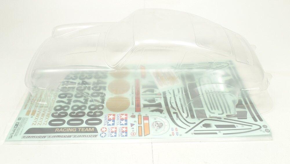 Tamiya 1 10 ta02 porsche turbo rsr negro 11824141 carrocería + decoración arco t9j ®