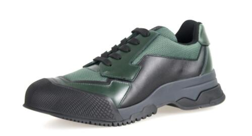 Lujo prada cortos zapatos 4e2748 Gruen negro nuevo 6,5 40,5 41