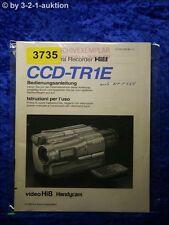 Sony Bedienungsanleitung CCD TR1E Video Camera Recorder (#3735)