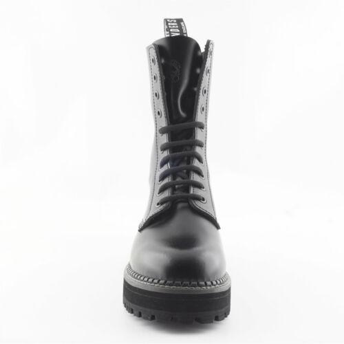 Débardeur femme Grinders Taylor CS Noir 10 Oeillet Non Steel Toe Derby Boot