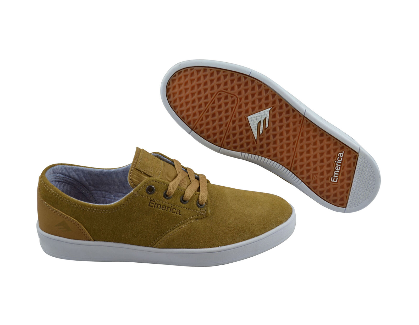 Emerica The Romero Laced brown/white/brown Skater Sneaker/Schuhe braun