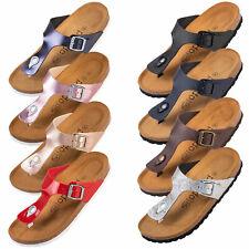 Palado® Damen Sandale Kos | Made in EU | Herren Pantolette in versch. Farben NEU