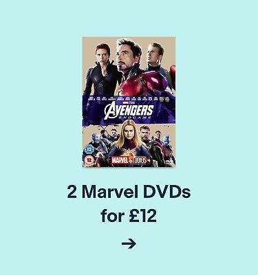 2 Marvel DVDs for £12