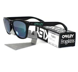 Oakley Frogskins Black Ink / Jade Iridium Polarized 9013-11 7ilSL