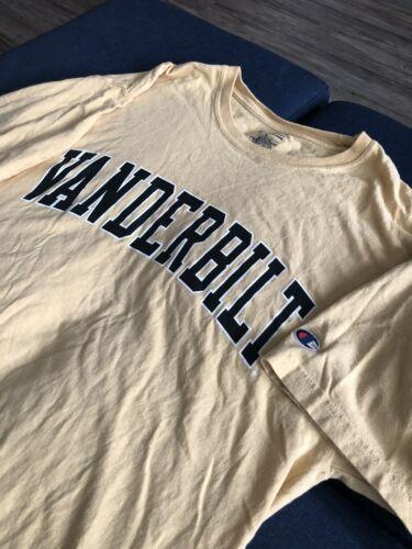 Vintage Champion T Shirt Large University Tee Vand
