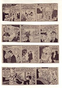 Dick-Tracy-by-Collins-amp-Fletcher-18-daily-comic-strips-from-April-1979