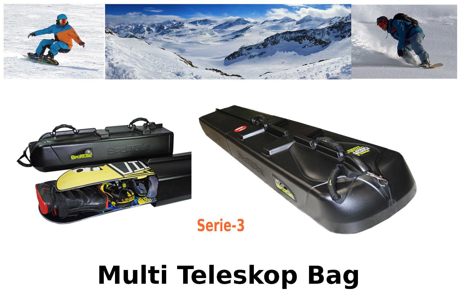 Teleskop Snowboardtasche Snowboardbag Raceboard  Freeride Freestyle Board  discount low price