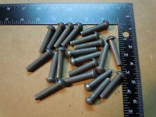 20 Steel Round Head Rivet 15 1 12 X 516 Steampunk Blacksmith Industrial Art