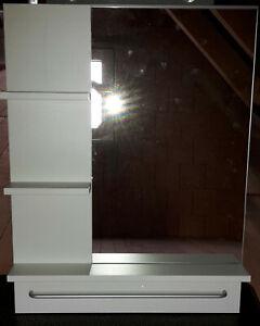 Ikea Lillangen Spiegel Weiss Fur Badezimmer Etc Mit Ablage Rechteckig Ebay