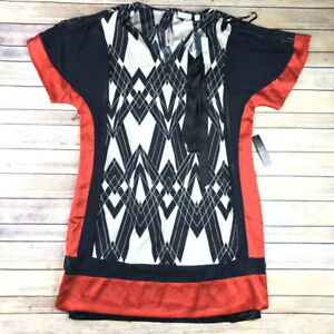 New-York-amp-Company-Tunic-V-Neck-Top-Blouse-Womens-Size-XL-65-Nwt