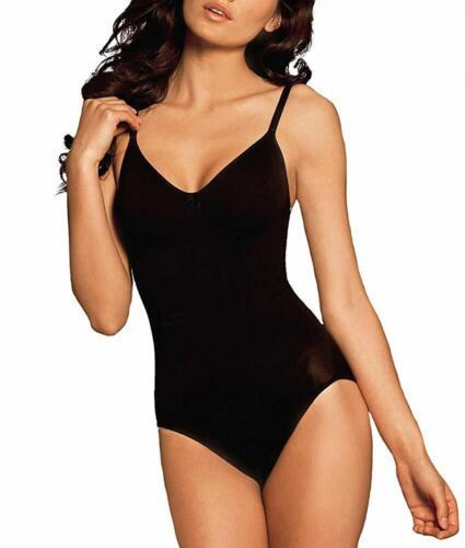US XL Body Wrap BLACK Firm Control Wire-Free Bodysuit