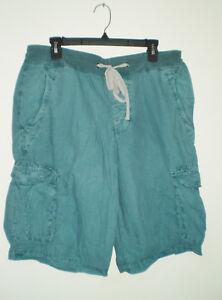 9e35b978c4 JAMES PERSE Men's Yosemite Cargo Shorts 1 (S) Pigment Washed ...