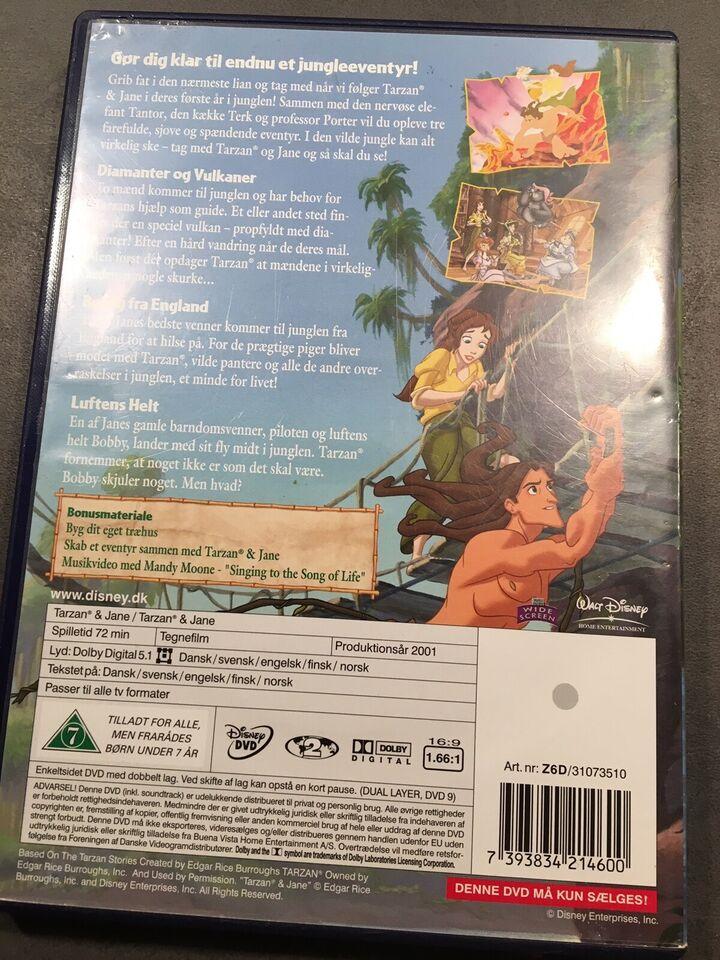 Tarzan & Jane, instruktør Walt Disney, DVD