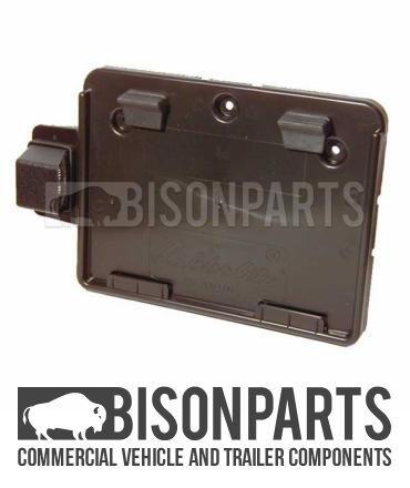 * rubberlite Camion LCV numero titolare c//lampada targa W-BP76-019 horsebox