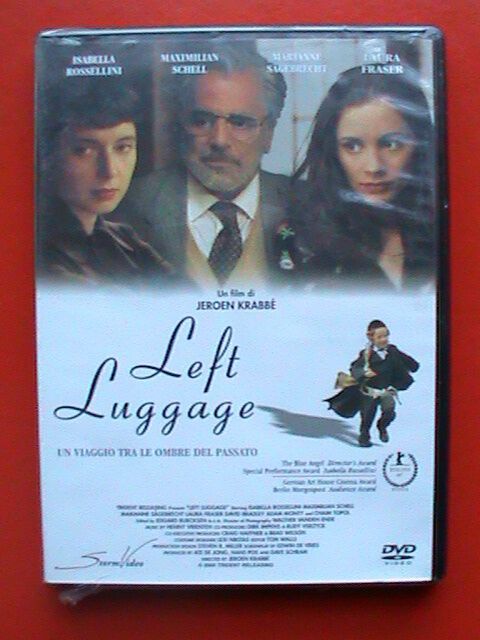 dvd film isabella rossellini left luggage maximilian schell marianne sagebrecht
