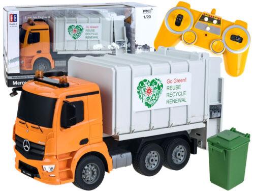 Mercedes-Benz Antos Garbage Truck 2.4G RTR 1:20 Recycle Sanitation Vehicle 40 cm