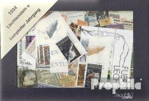 Briefmarken-Liechtenstein-gestempelt-1994-kompletter-Jahrgang-Liechtenstein-gest