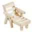 Indexbild 18 - Wichtelmöbel Holz Tür Wichteltür Möbel für Wichtel Elfen Feen Stuhl Tisch Bank