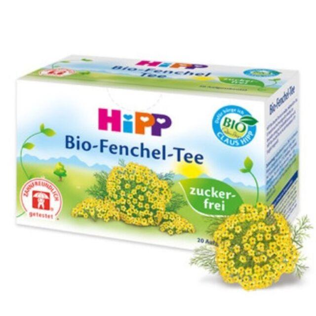 HiPP Baby Organic Fennel Tea 20 x TEABAGS Digestive tea to soothe colic!