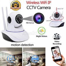 Wireless WiFi Pan Tilt 720P Security Surveillance Camera Night Vision Webcam US