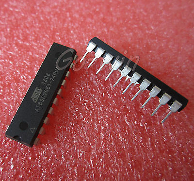 10PCS IC AT89C2051-24PU MICROCONTROLLER ATMEL DIP-20 HIGH QUALITY