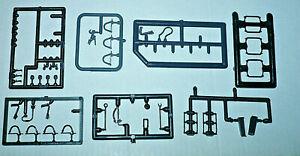 HO-Teile-Ersatzteile-PIKO-ua-Triebwagen-BW-Griffstangen-Bremsschlauch-Lok