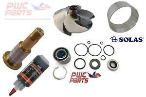 SeaDoo Jet Pump Rebuild Kit Wear Anello Impeller Shaft 2004+ 185HP GTX SR-CD-11/