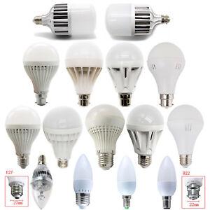 E14 E27 B22 B15 3W-36W светодиодные свечи Глобус лампы свет штык белый лампы 220 В
