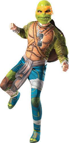 Michel-Ange ROBE FANTAISIE HOMME Mutant Ninja Turtles Super Héros Adulte TMNT Costume