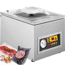 Vevor 120w Vacuum Chamber Sealer Food Sealing Machine Commercial Packing Machine