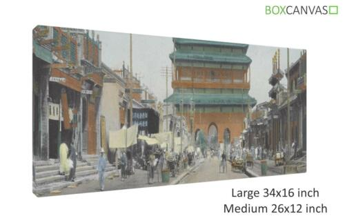CHINESE ART BEIJING CANVAS PICTURE WALL