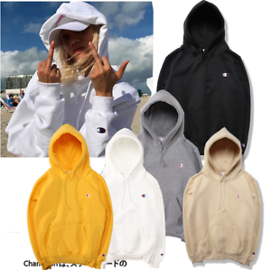 Women-039-s-Men-039-s-Champion-Hoodie-Long-Sleeve-Embroidered-Hooded-Leisure-Hoody